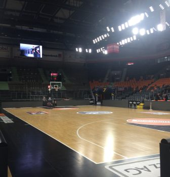 Nationalhymne in der Ratiopharm Arena Neu-Ulm