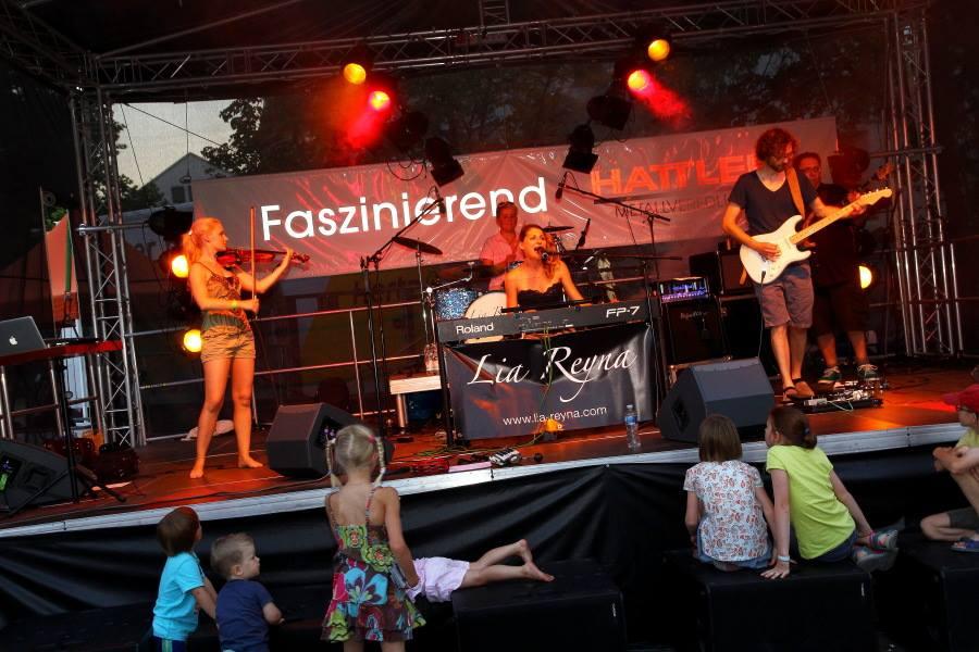 LIA REYNA + BAND @ 10. Schwenninger Kulturnacht (Foto JPS JogiPics)