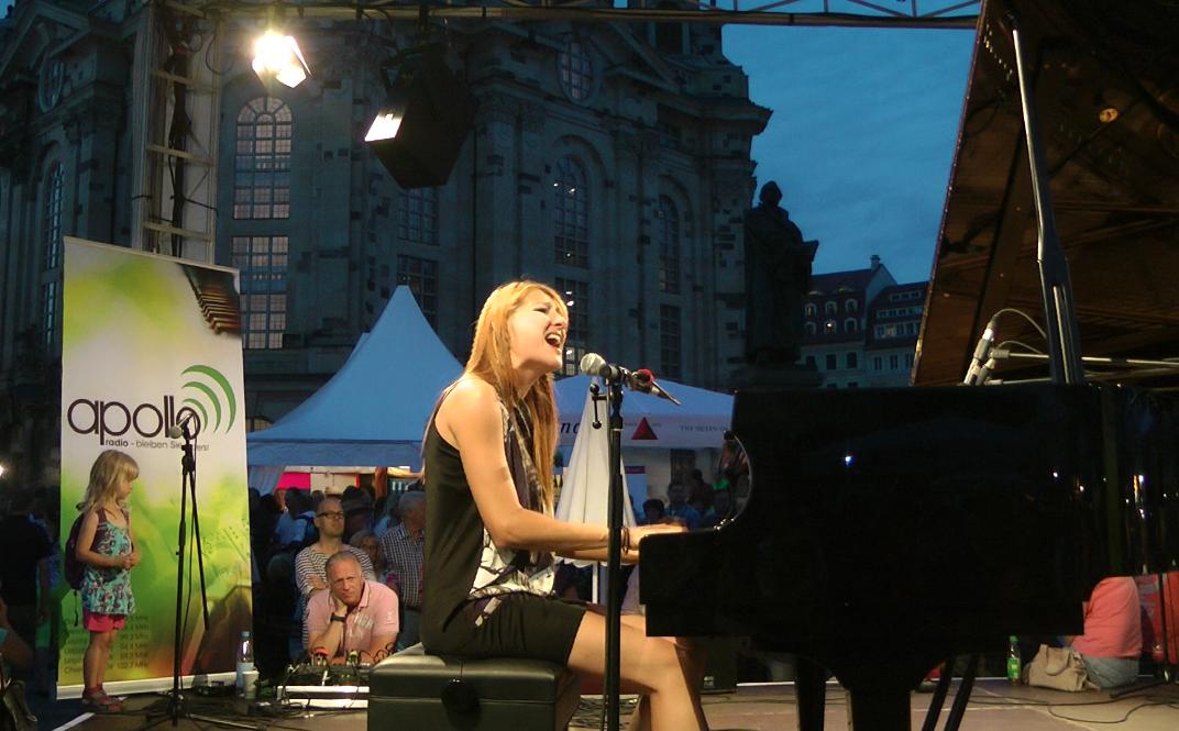 REYNA @ Stadtfest Dresden August 2013