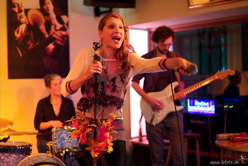 REYNA & BAND @ Oscar's Reutlingen 11.10.14 (Foto Heiko Herrmann)
