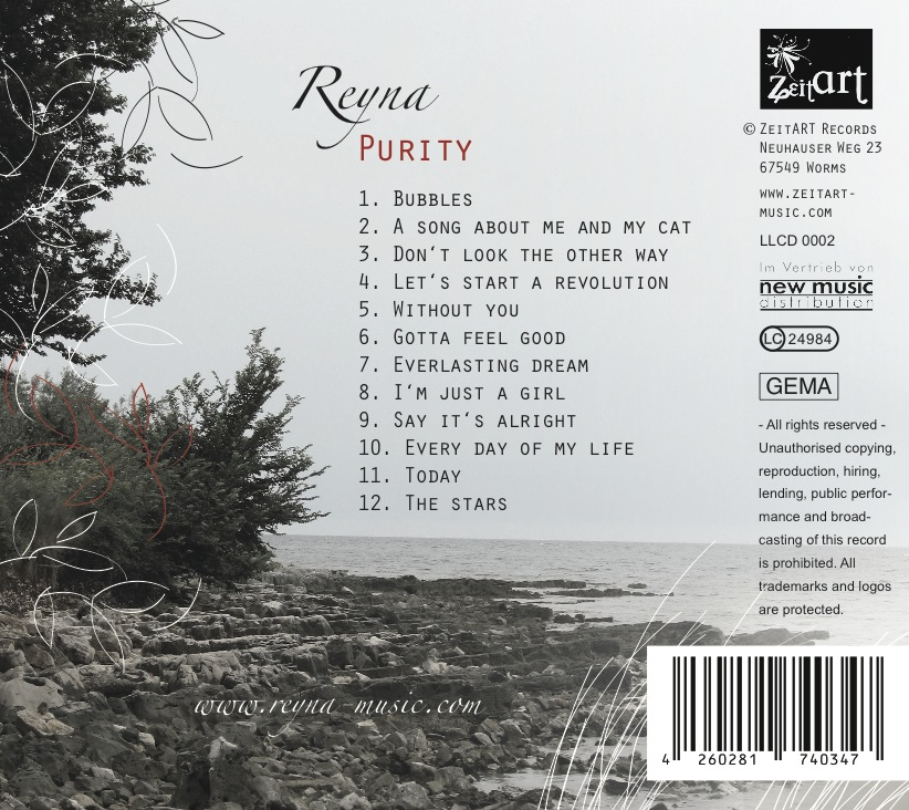 "REYNA Album ""Purity"" 2012"