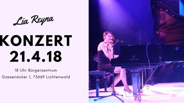 Konzert Lia Reyna in Lichtenwald