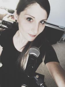 Lia Reyna beim Proben