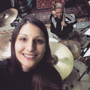 Lia Reyna + Drummerin @ Proberaum Neckartenzlingen