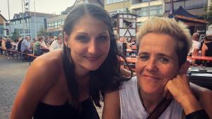 Lia Reyna + Drummerin @ Küferfest Heidenheim (Aug. 2018)