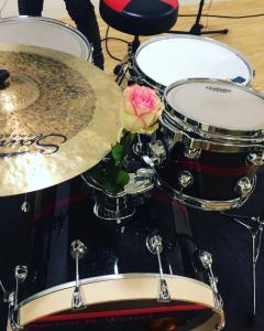 Lia Reyna + Drummerin @ Jahresauftaktfeier Stadt Aalen (Februar 2018)