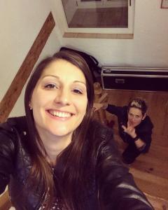 Lia Reyna + Drummerin @ Rottweil (Januar 2018)