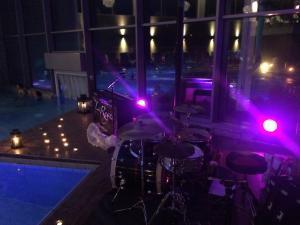Lia Reyna + Drummerin @ Wonnemar Marktheidenfeld (März 2018)