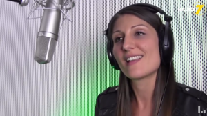 Lia Reyna im Radio 7 Studio Ulm (Sept 2017)