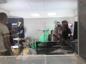 Lia Reyna im Radio 7 Studio Ulm 2017 (Sept 2017)
